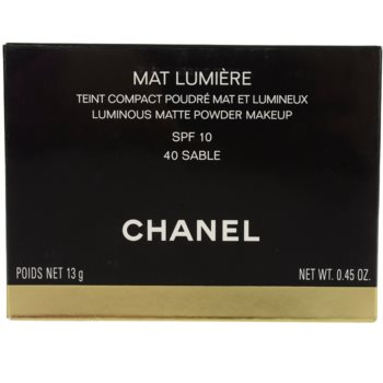 Chanel Mat Lumiere Compact puder rozjaśniający 2