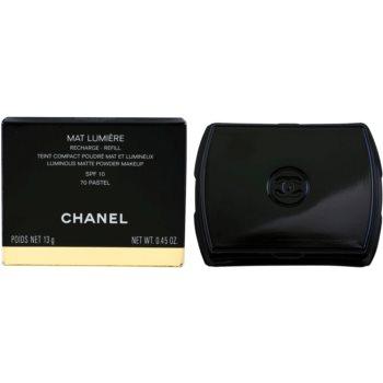Chanel Mat Lumiere Compact pó iluminador recarga 4