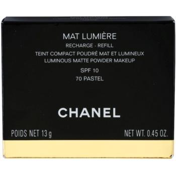 Chanel Mat Lumiere Compact pó iluminador recarga 5