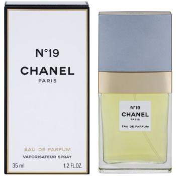 Chanel No.19 eau de parfum pentru femei 35 ml