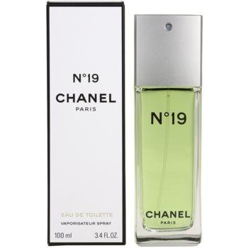 Chanel No.19 eau de toilette pentru femei 100 ml