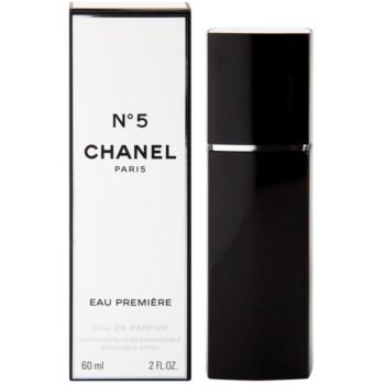 Chanel No.5 Eau Premiere parfemovaná voda pro ženy 60 ml plnitelný