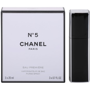 Chanel No.5 Eau Premiere Eau De Parfum pentru femei 3 x 20 ml (1x reincarcabil + 2x rezerva)