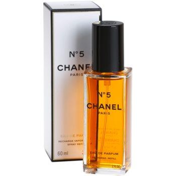 Chanel No.5 parfémovaná voda pro ženy  náplň s rozprašovačem 1