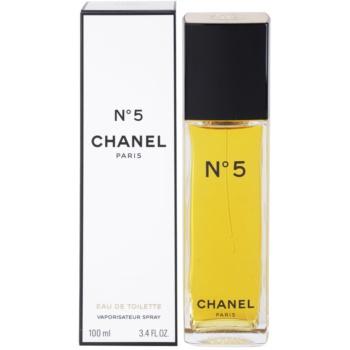 Chanel No.5 eau de toilette pentru femei 100 ml