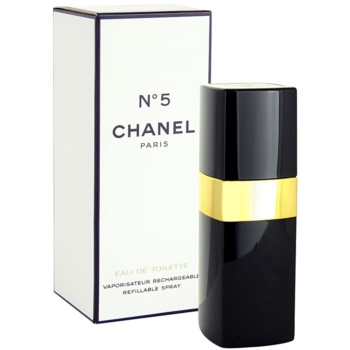 Chanel No.5 eau de toilette pentru femei 50 ml reincarcabil