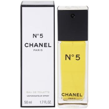 Chanel N°5 eau de toilette pentru femei 50 ml