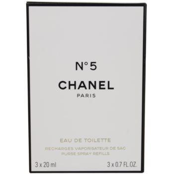 Chanel No.5 toaletní voda pro ženy  cestovní balení 1