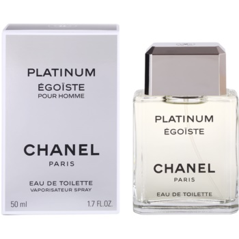 Chanel Égoïste Platinum eau de toilette pentru barbati 50 ml