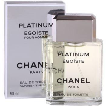 Chanel Egoiste Platinum Eau de Toilette para homens 1