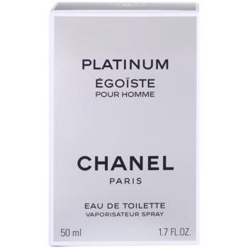 Chanel Egoiste Platinum Eau de Toilette para homens 4