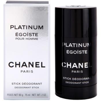 Chanel Egoiste Platinum deostick pentru barbati 75 ml
