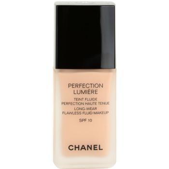Fotografie Chanel Perfection Lumiére fluidní make-up pro perfektní vzhled odstín 22 Beige Rose 30 ml