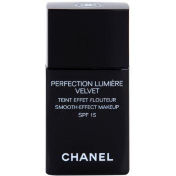Chanel Perfection Lumiére Velvet sametový make-up pro matný vzhled odstín 40 Beige SPF 15 30 ml