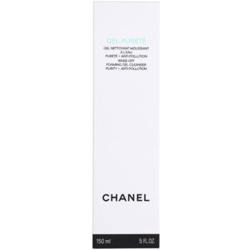 Chanel Cleansers and Toners gel de limpeza para pele mista e oleosa 4