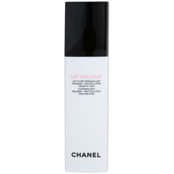 Fotografie Chanel Čisticí mléko Lait Douceur (Cleansing Milk Balance + Anti-Pollution Face And Eyes) 150 ml