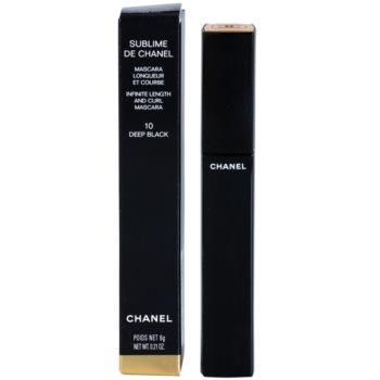 Chanel Sublime De Chanel máscara de alongamento e curvatura 2