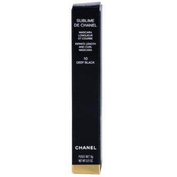 Chanel Sublime De Chanel máscara de alongamento e curvatura 3