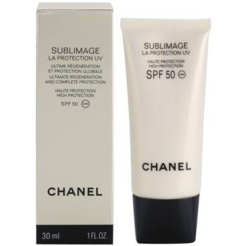Chanel Sublimage регенериращ и защитен крем SPF 50 1