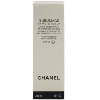 Chanel Sublimage регенериращ и защитен крем SPF 50 2