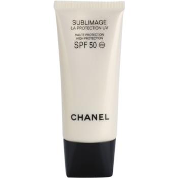 Chanel Sublimage crema regenerativa de protectie SPF 50