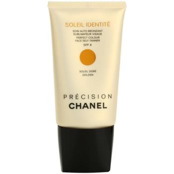 Fotografie Chanel Précision Soleil Identité samoopalovací krém na obličej SPF 8 odstín Golden 50 ml