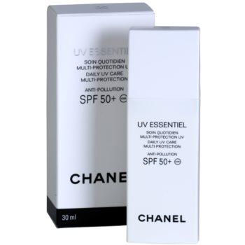 Chanel UV Essentiel слънцезащитен лосион за лице SPF 50+ 1