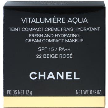 Chanel Vitalumiére Aqua fond de ten crema hidratant 5