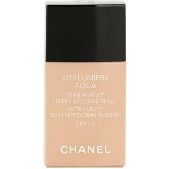 Chanel Vitalumiére Aqua make-up ultra light pentru o piele radianta