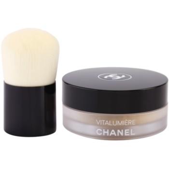 Chanel Vitalumiere pudra cu pensula
