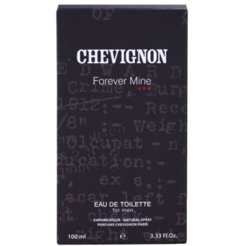 Chevignon Forever Mine for Men Eau de Toilette pentru barbati 4