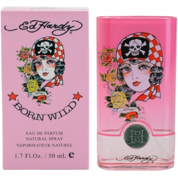 Christian Audigier Ed Hardy Born Wild Eau de Parfum para mulheres