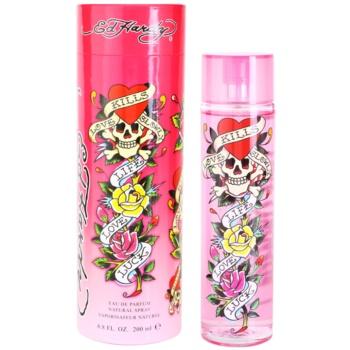 Christian Audigier Ed Hardy For Women eau de parfum pentru femei 200 ml
