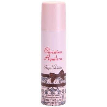 Christina Aguilera Royal Desire Deo-Spray für Damen