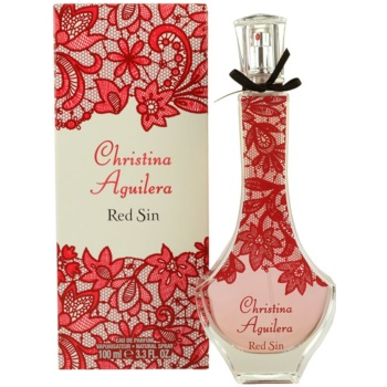 Christina Aguilera Red Sin parfemovaná voda pro ženy 100 ml