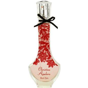 Christina Aguilera Red Sin eau de parfum pentru femei 50 ml