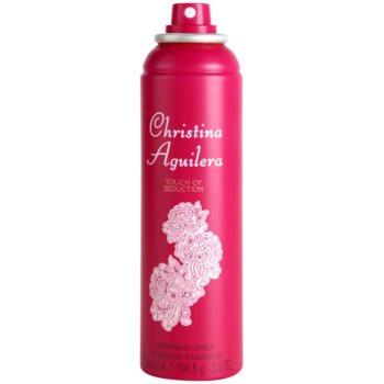 Christina Aguilera Touch of Seduction deodorant Spray para mulheres 1
