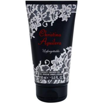 Christina Aguilera Unforgettable gel de dus pentru femei 150 ml