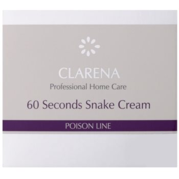 Clarena Poison Line 60 Second Snake Liftingcrem mit Antifalten-Effekt 2