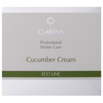 Clarena Eco Line Cucumber почистващ крем  за лице 2