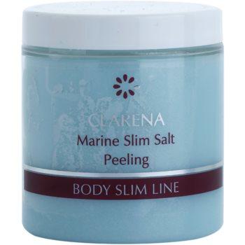 Clarena Body Slim Line Marine пілінг для тіла з детокс-ефектом з кристалами солі та маслом каріте