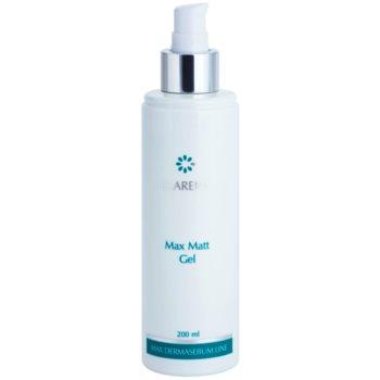 Clarena Max Dermasebum Line Max Matt gel pentru curățarea delicata a tenului gras 1