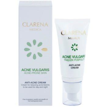 Clarena Medica Acne Vulgaris лек хипоалергенен крем за редуциране на акне 1