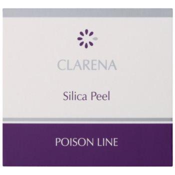Clarena Poison Line Silica Peel čistilni piling za obraz, vrat in dekolte 2