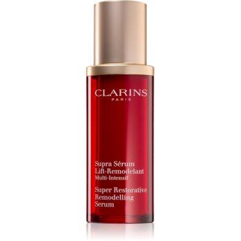 Clarins Super Restorative Remodelling Serum Ser activ pentru a netezi conturul feței