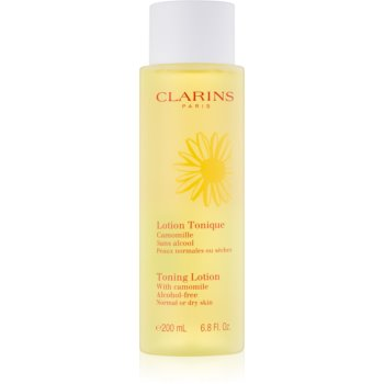 Clarins Cleansers apă tonica de îngrijire cu mușețel pentru piele normala si uscata