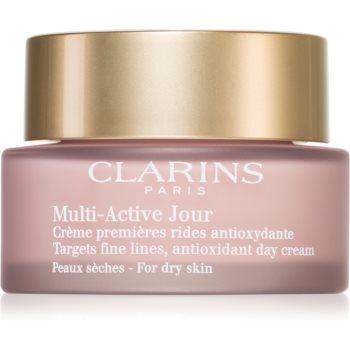 Clarins Multi-Active Day crema de zi antioxidanta pentru tenul uscat poza noua