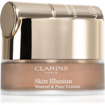 Clarins Skin Illusion Loose Powder Foundation pudra machiaj cu pensula