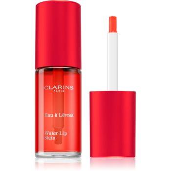Clarins Water Lip Stain Lip Gloss mat cu efect de hidratare imagine produs