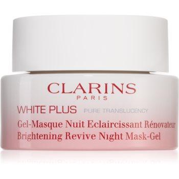 Clarins White Plus Pure Translucency Brightening Revive Night Mask-Gel mască iluminatoare de noapte